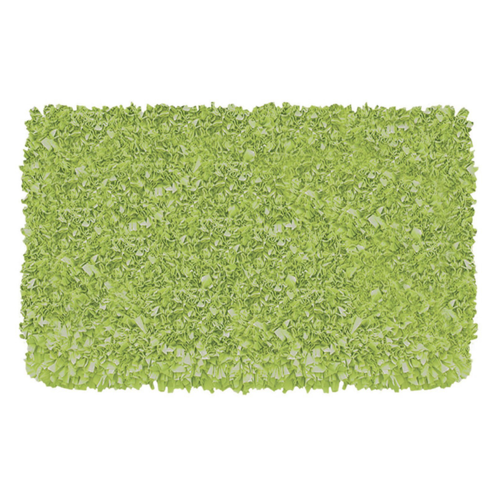 The Rug Market Shaggy Raggy Lime Size 4.7' x 7.7' Area Rug