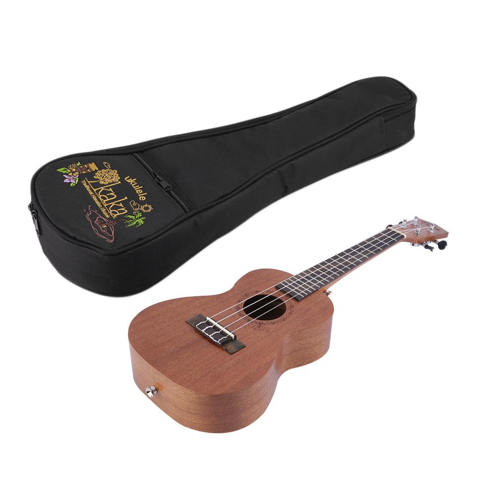 """21/23/26"""" Sapele Acoustic Ukulele Guitar Four String Inst..."""