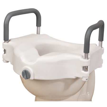 Fine Locking Raised Toilet Seat With Arms Xl Uwap Interior Chair Design Uwaporg