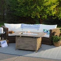 Belham Living 49 in. Willow Rectangle Propane Fire Pit