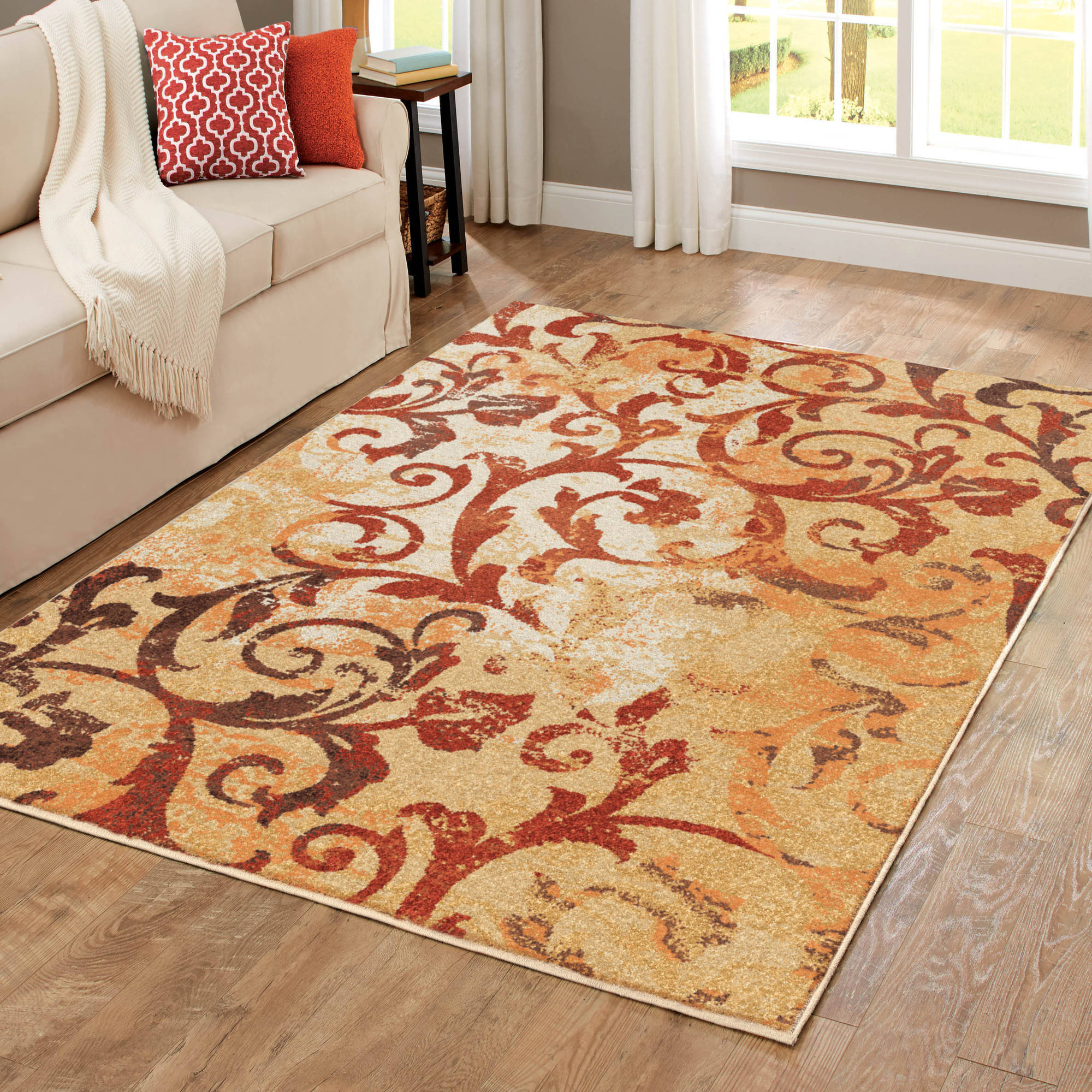 Better Homes And Gardens Scrollwork Area Rug