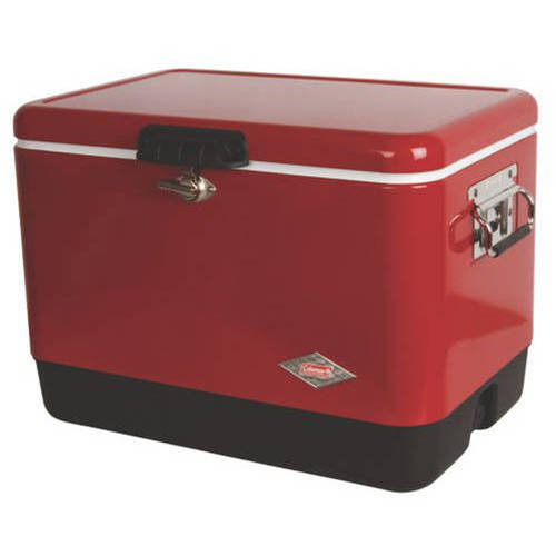 Review Coleman 54 qt Steel Belted Cooler Review
