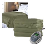Sunbeam SelectTouch RoyalMink Electric Heated Blanket Full Size Eucalyptus