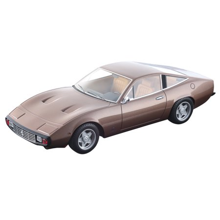 1971 Ferrari 365 GTC/4 Metallic Bronze w/ Beige Interior Mythos Series Ltd Ed 80 pcs 1/18 Model Car by Tecnomodel