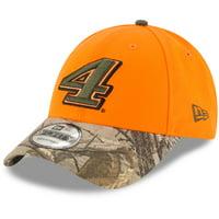 Kevin Harvick New Era Safety 9FORTY Adjustable Hat - Orange Camo - OSFA 829873c2985c