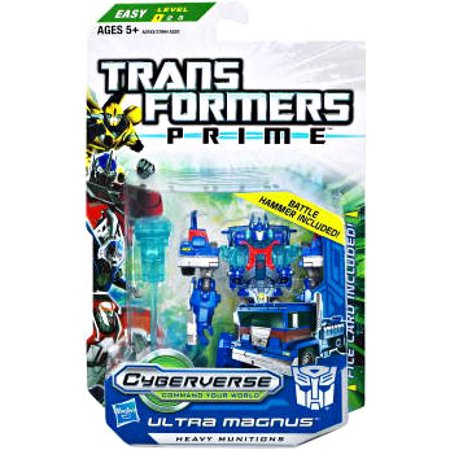 Autobot Ultra Magnus (Transformers Cyberverse Commander Ultra Magnus Action Figure )