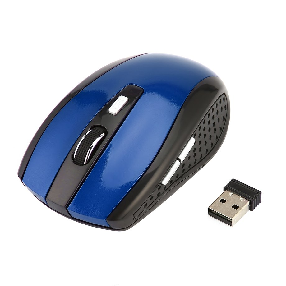 2.4GHz Wireless Mouse Portable Optical Gaming Mouse Mice for Laptop Computer