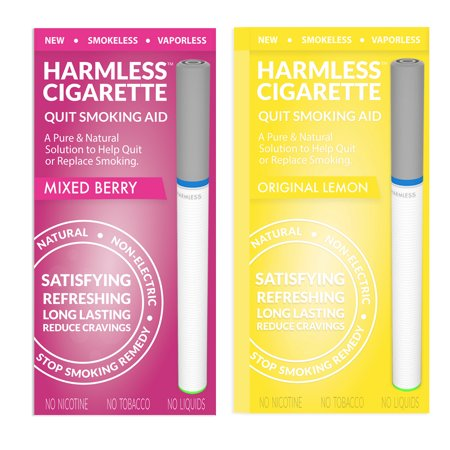 Harmless Cigarette | Alternative to Nicorette | New Smoking Cessation Product To Help You Quit Smoking Easy & Naturally. Now Better Than Patches, Gum, Pills, Spray, Lozenges, Tea &