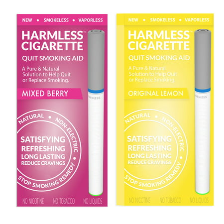 Harmless Cigarette New Smoking Cessation Product To Help You Quit Smoking Easy & Naturally. Now Better Than Patches, Gum, Pills, Spray, Lozenges, Tea & Magnet.