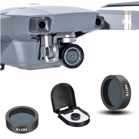 Photography HD Camera Lens ND16 Filter camerasampphoto Cap Cover Case for DJI Mavic PRO FPV (Best Lens For Fpv)