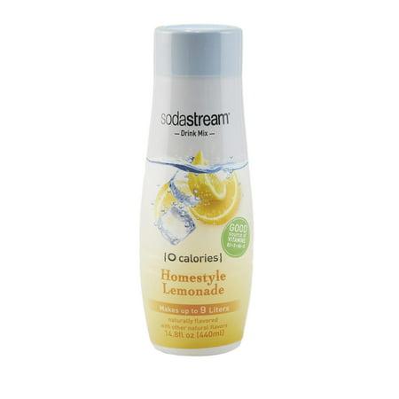 SodaStream Zero Lemonade Flavor Mix, 14.8 Fl. Oz. ()