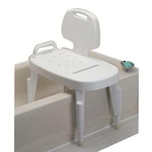 Adjustable Shower Transfer Bench Walmart Com