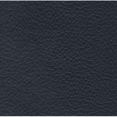 Navy Faux Leather - Faux Leather Fabric Calf Navy ( 1 yard )