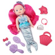 Kid Connection Mermaid Baby Doll Play Set, 12 Pieces Included