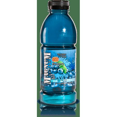 Magnum Detox 16 oz  Detox Drink Blueberry Flavor