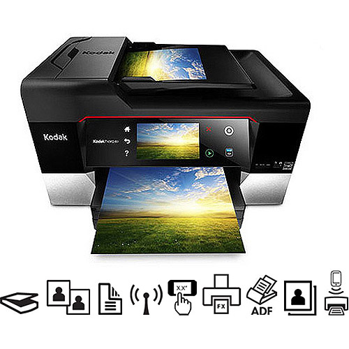 Kodak Hero 9.1 Wireless All-in-One Printer/Copier/Fax Machine/Scanner