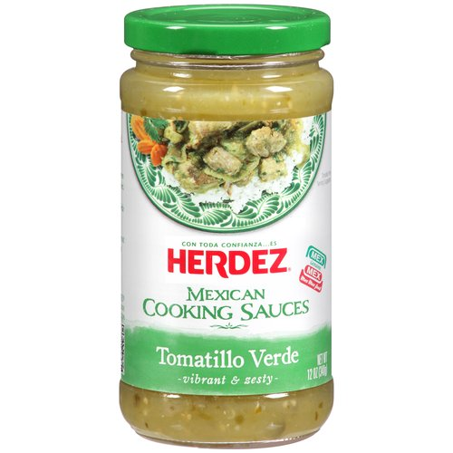 Herdez Tomatillo Verde Cooking Sauce, 12 oz