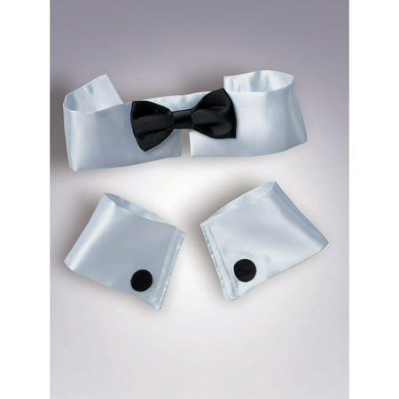 Collar, Cuff And Tie Adult - Halloween Cufflinks