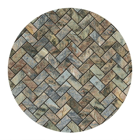 Thirstystone Drink Coasters Set, Stone Herringbone