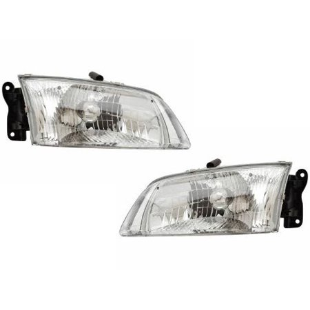 2000-2002 Mazda 626 New Headlights Set MA2502116 & -