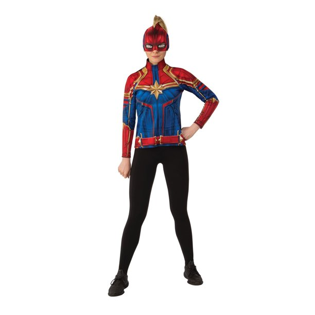Halloween Captain Marvel Hero Suit Adult Costume Top Walmart Com Walmart Com Great quality suit very comfortable and lightweight. halloween captain marvel hero suit adult costume top