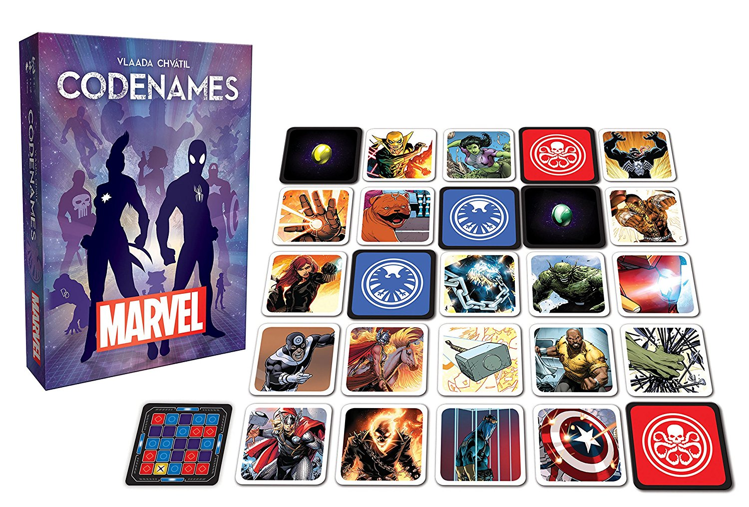 Codenames: Marvel Edition Card Game by USAopoly