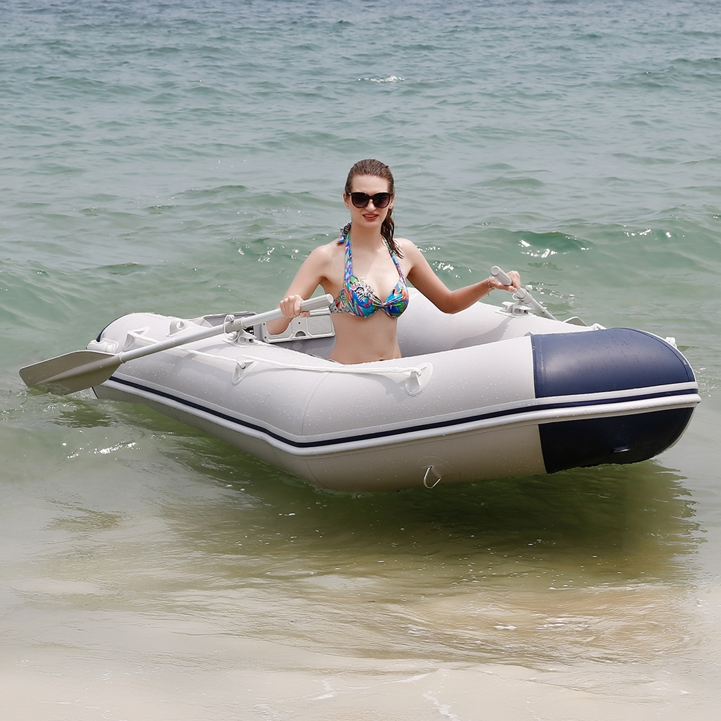 8ft PVC Inflatable Boat with Aluminum Floor SMT by