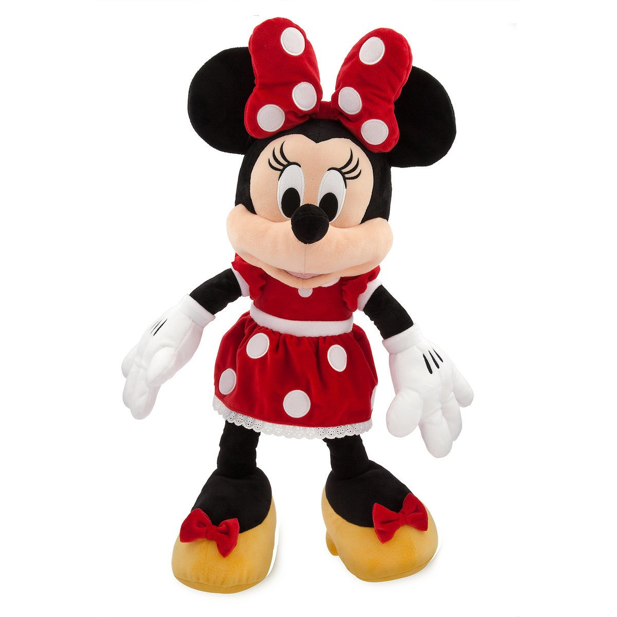 Disney Store Minnie Mouse Plush Red Large 27 Inc New With Tags