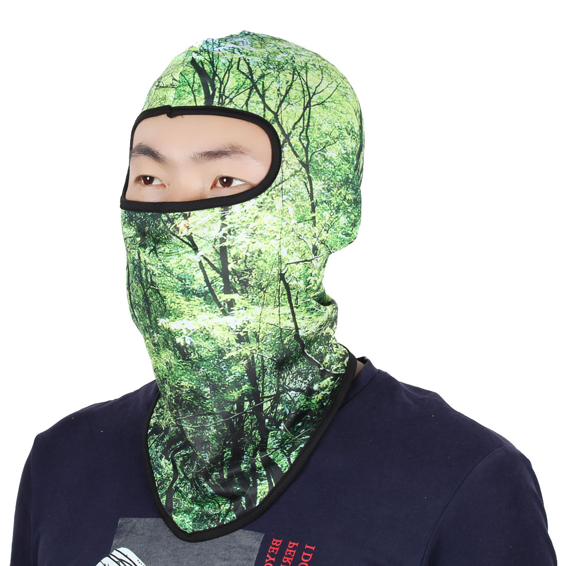 Full Coverage Mask Sports Cycling Biking Neck Protector Hood Helmet Balaclava by Unique-Bargains