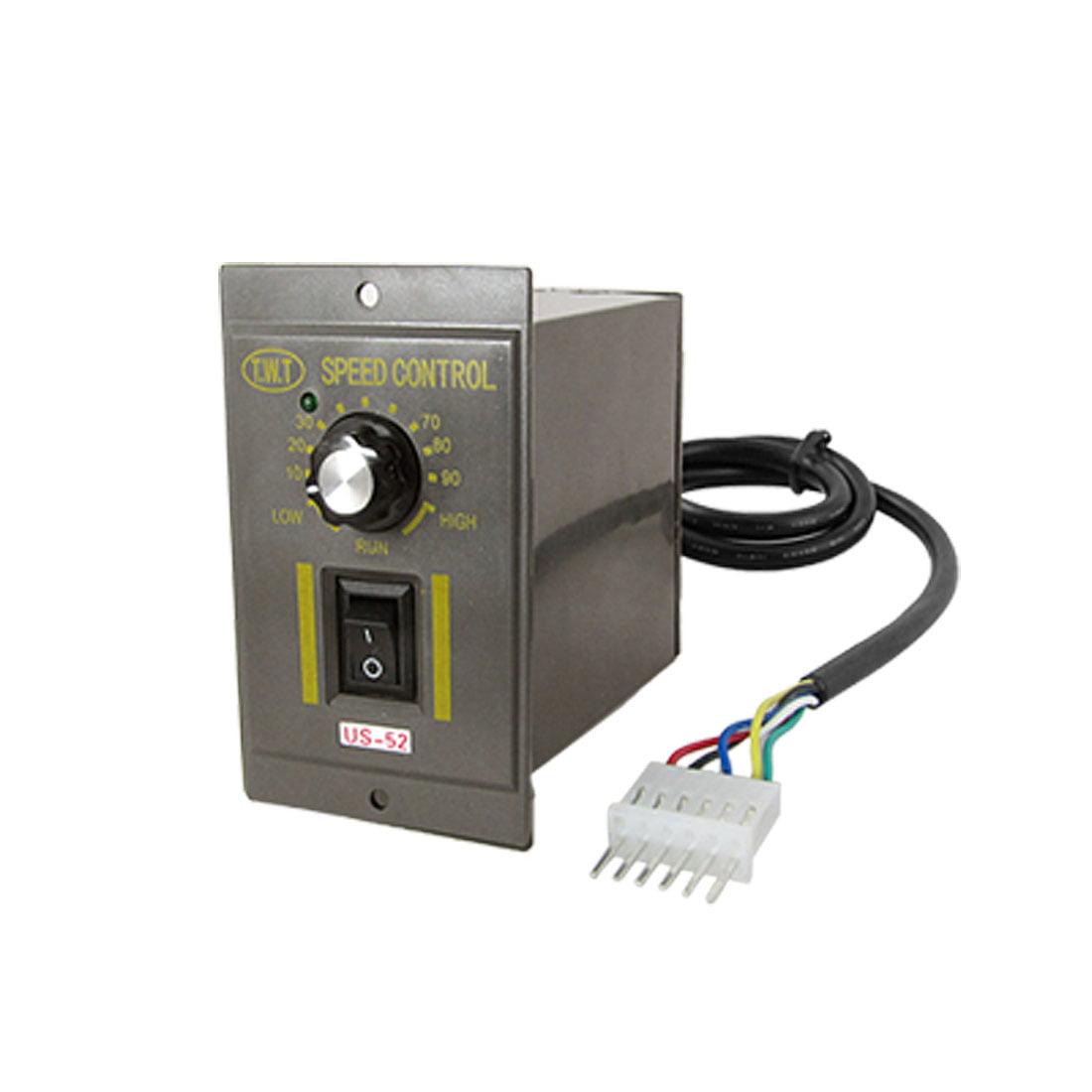Electric Gear Motor Speed Controller US-52 120W AC 220V - Walmart.com