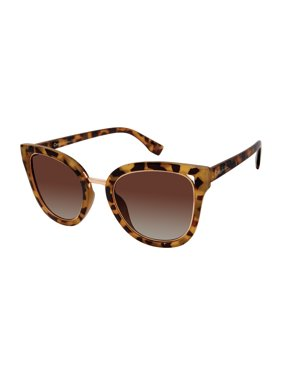 Circus by Sam Edelman Women's CC447 Cat-Eye Sunglasses with 100% UV Protection, 60 mm