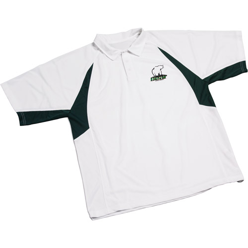Bear Archery High Performance Polo Shirt W/ Green Accents