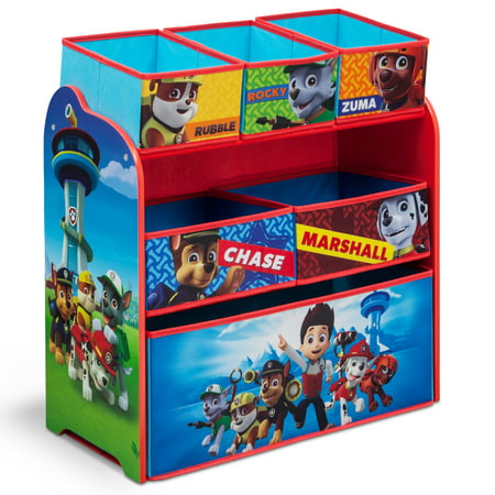 Nick Jr. PAW Patrol Multi-Bin Toy Organizer by Delta Children