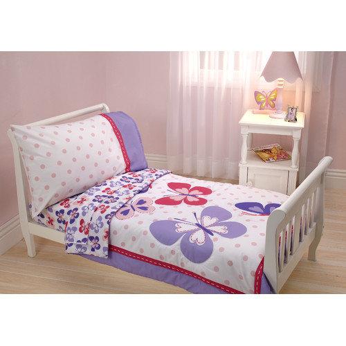 Carter's Butterfly 4 Piece Toddler Bedding Set