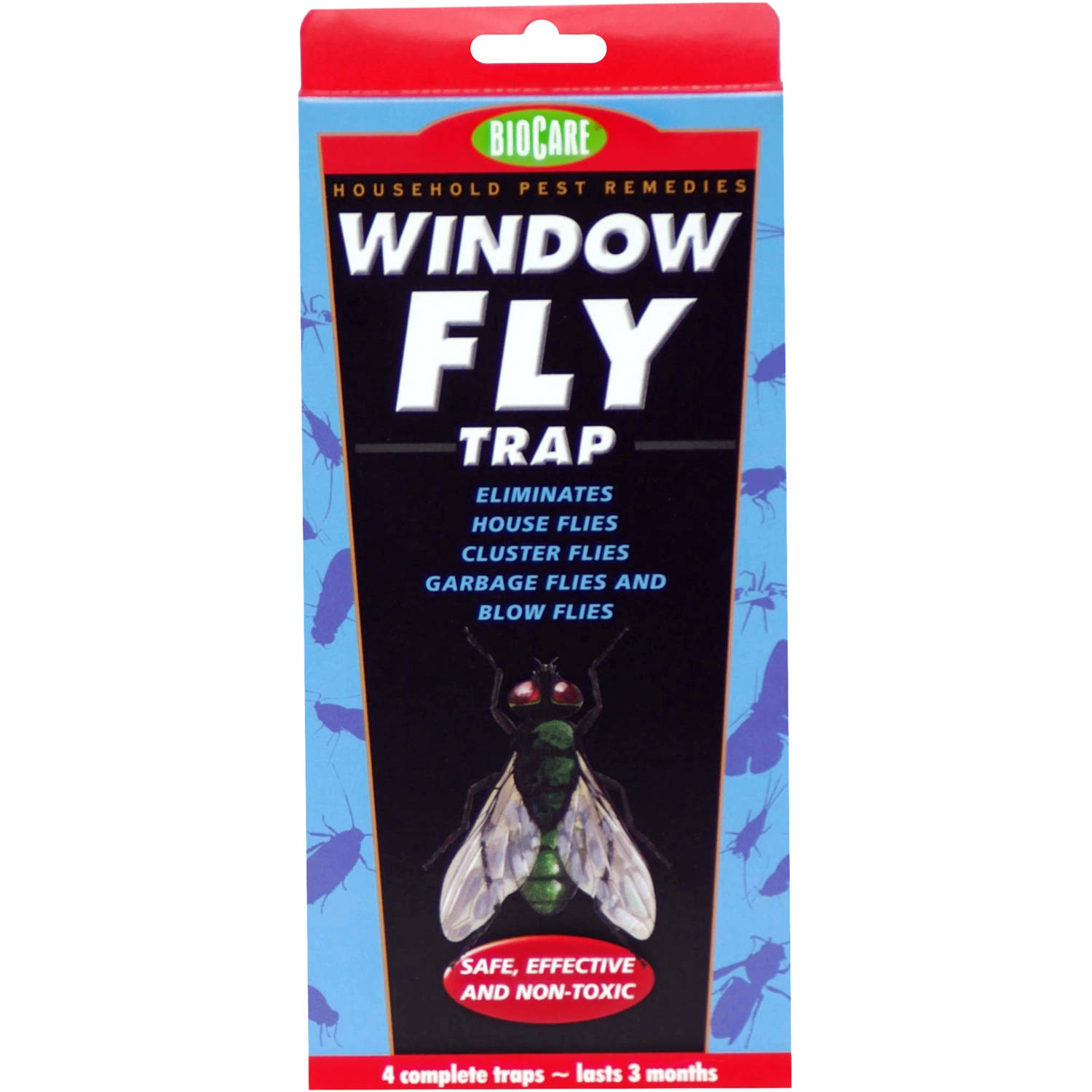 BioCare™ Window Fly Traps 4 Count