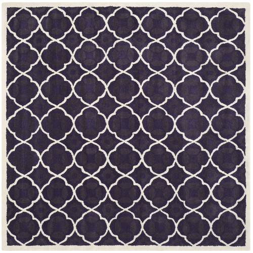 Safavieh Chatham Purple/Ivory Moroccan Area Rug