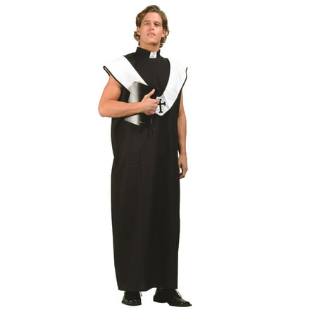 Woman Priest Costume (Plus Size Priest Costume)