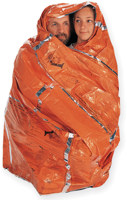 Click here to buy Adventure Medical Kits HeatSHeets Survival Blanket, Two Person by ADVENTURE MEDICAL KITS.