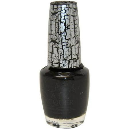 Shatter Nail Lacquer (Nail Lacquer No Nl E53 Black Shatter Nail Polish for Women, 0.5 Ounce )