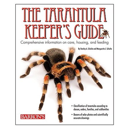 The Tarantula Keeper's Guide (Paperback) - Cute Tarantula