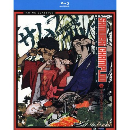 Samurai Champloo  The Complete Series  Blu Ray   Japanese