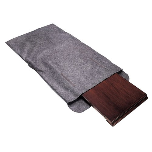 Richards Homewares Table Leaf Storage Bag with Handle-Grey by Richards Homewares