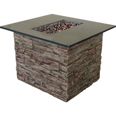Bond monterey envirostone gas fire table for Table 52 petroleum