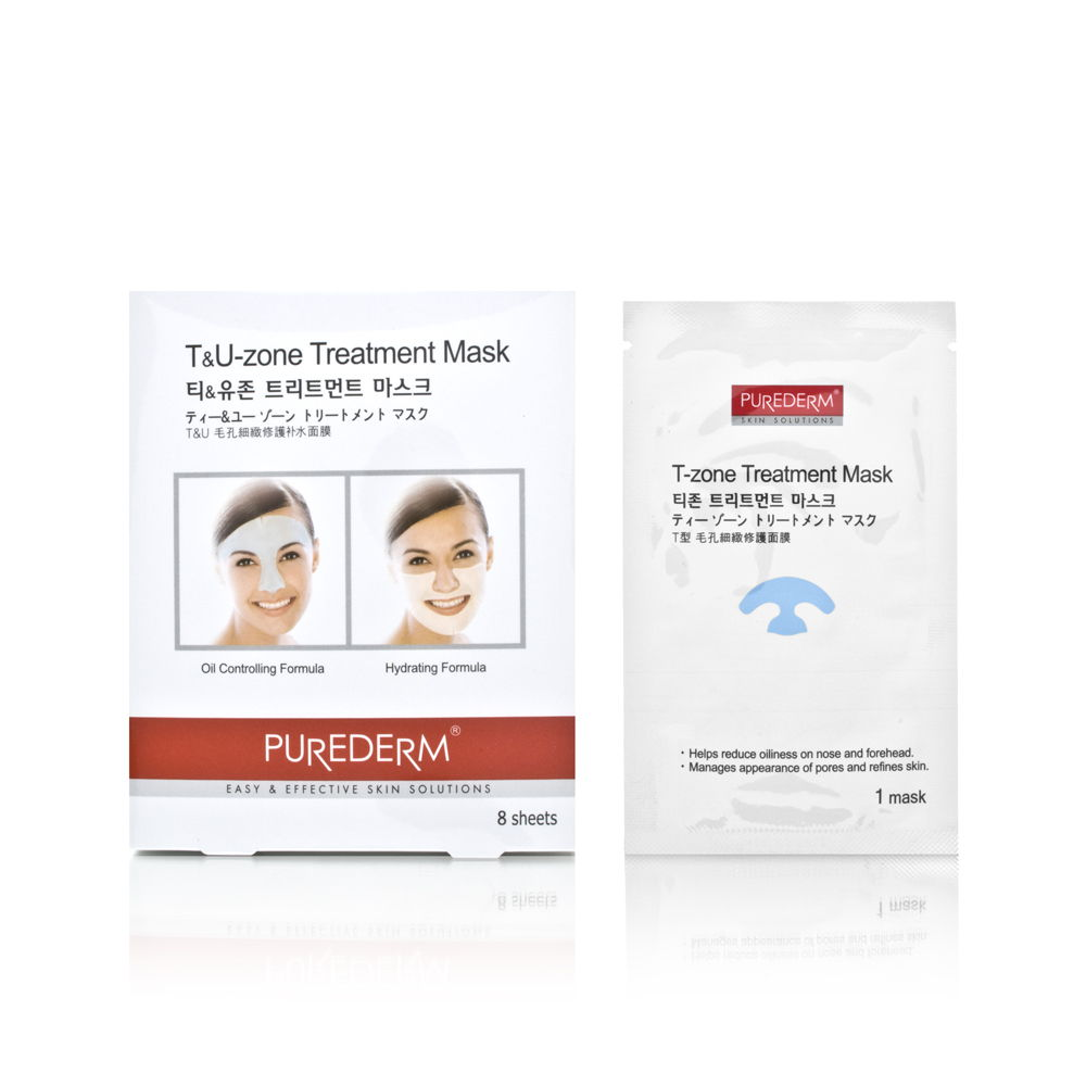 Purederm T&U Zone Treatment Mask 8 Sheets