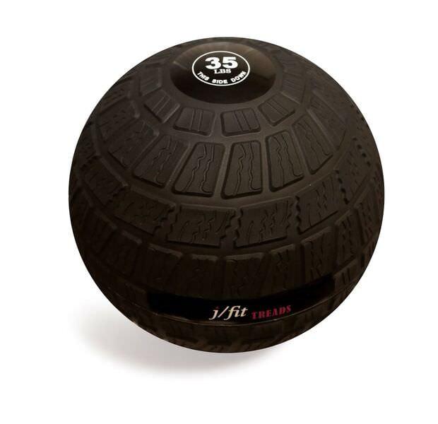j/fit Dead Weight Treads Slam Ball - 35lb