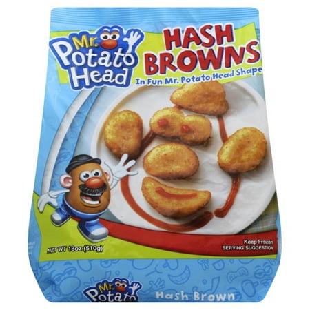 82a230e9 Mr Dees Mr Potato Head Hash Browns, 18 oz - Walmart.com