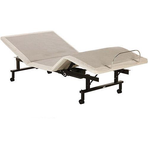 Shipshape Adjustable Bed Frame Twin Xl Walmart Com