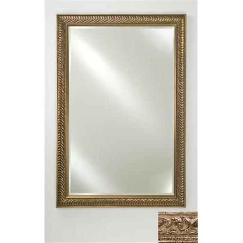 Afina Corporation FM2436TUSSVB 24 inchx 36 inchSignature Beveled Mirror - Tuscany Silver