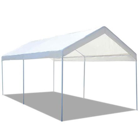 Gymax Steel Frame Party Tent Canopy Shelter Portable Car