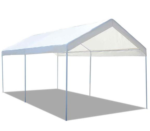 Gymax Steel Frame Party Tent Canopy Shelter Portable Car Carport Garage Cover  sc 1 st  Walmart & Gymax Steel Frame Party Tent Canopy Shelter Portable Car Carport ...